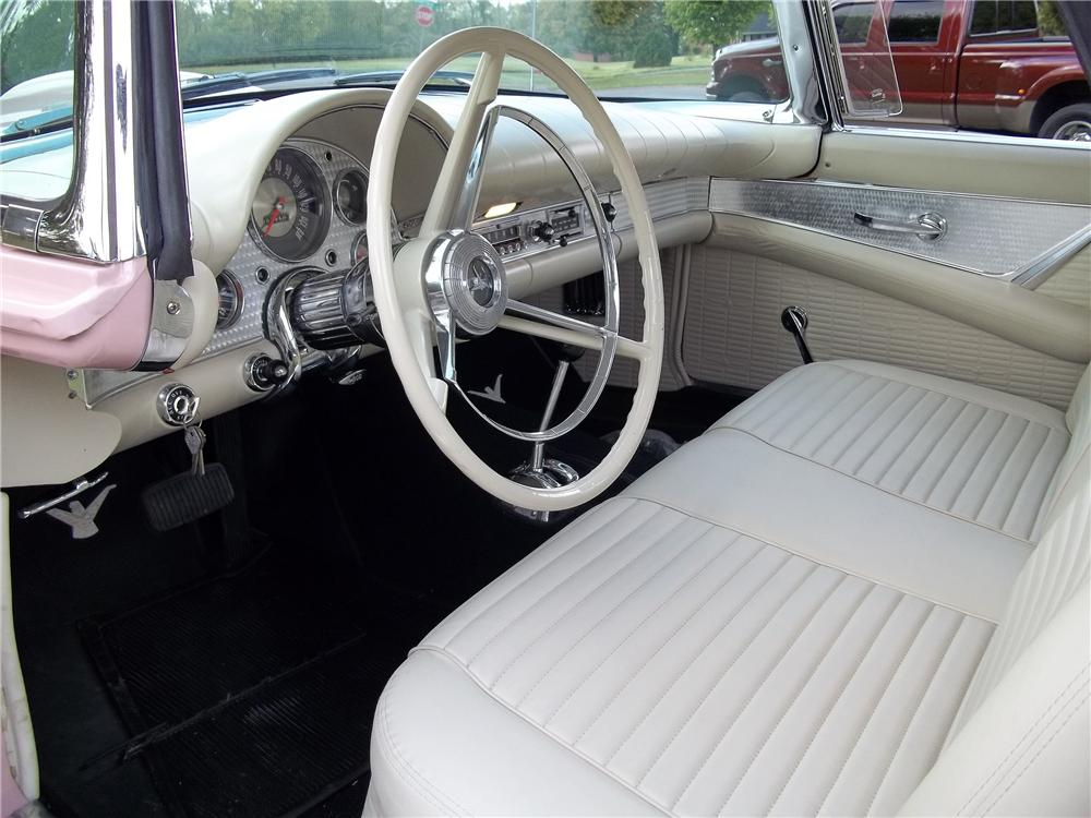 1957 FORD THUNDERBIRD CONVERTIBLE - Interior - 138001