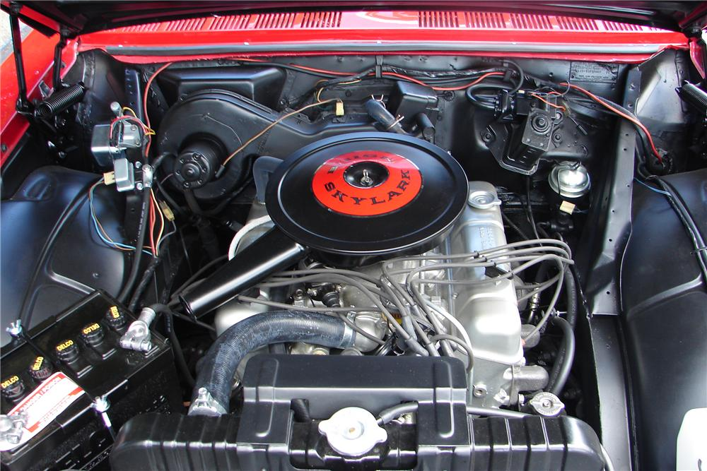 1963 BUICK SKYLARK CONVERTIBLE - Engine - 138011