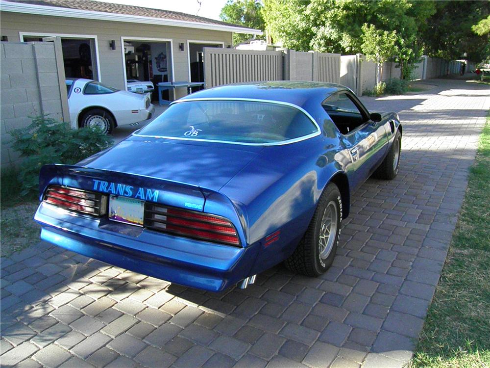 1978 PONTIAC FIREBIRD TRANS AM 2 DOOR COUPE - Rear 3/4 - 138012