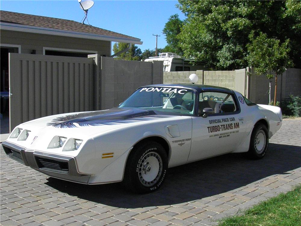 1980 PONTIAC FIREBIRD TRANS AM PACE CAR EDITION - Front 3/4 - 138013