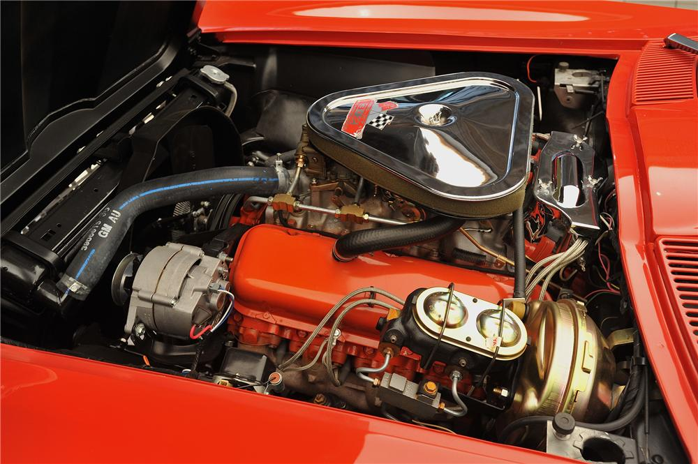 1967 CHEVROLET CORVETTE CONVERTIBLE - Engine - 138018