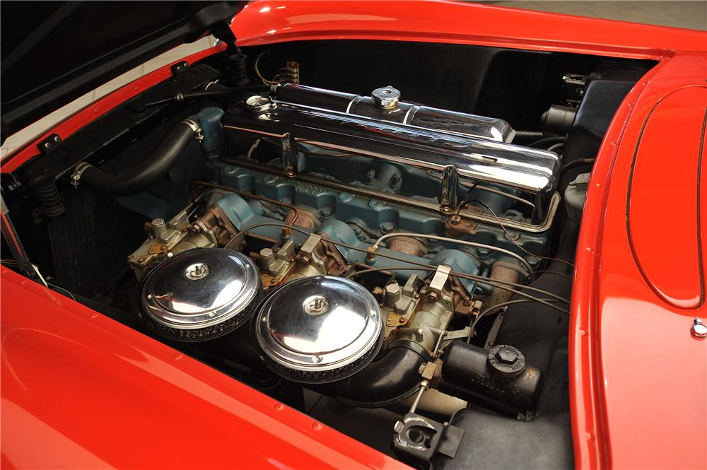 1955 CHEVROLET CORVETTE CONVERTIBLE - Engine - 138019