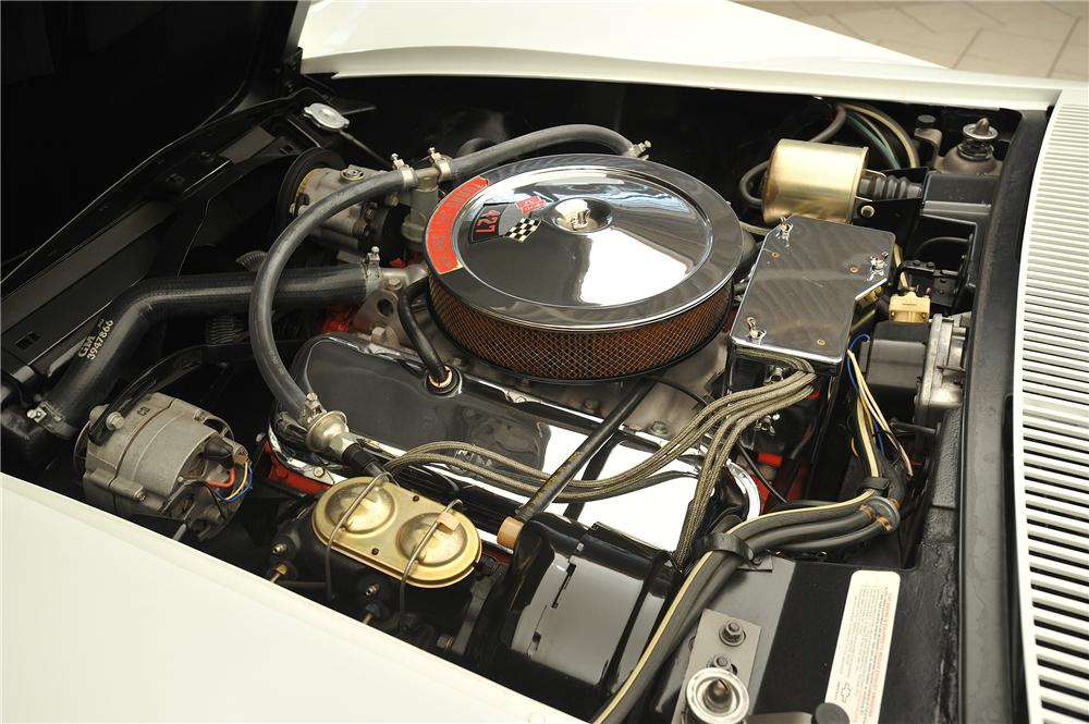 1968 CHEVROLET CORVETTE CONVERTIBLE - Engine - 138025