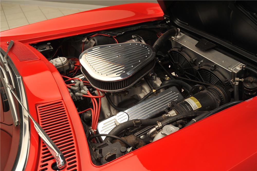 1965 CHEVROLET CORVETTE CUSTOM 2 DOOR COUPE - Engine - 138030