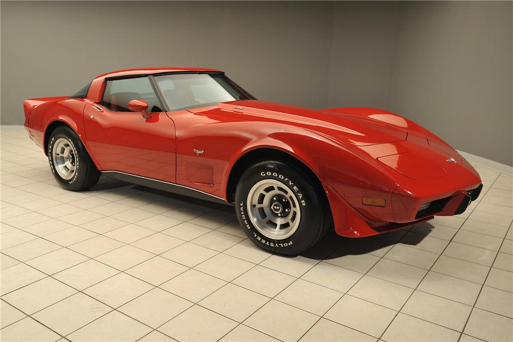 1979 CHEVROLET CORVETTE 2 DOOR COUPE - Front 3/4 - 138032