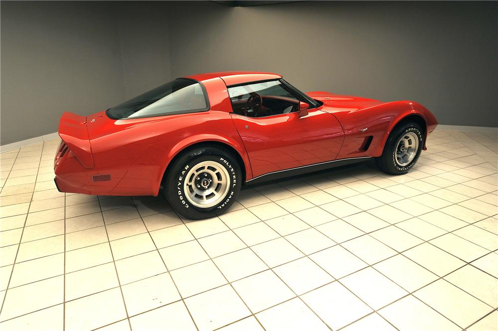 1979 CHEVROLET CORVETTE 2 DOOR COUPE - Rear 3/4 - 138032