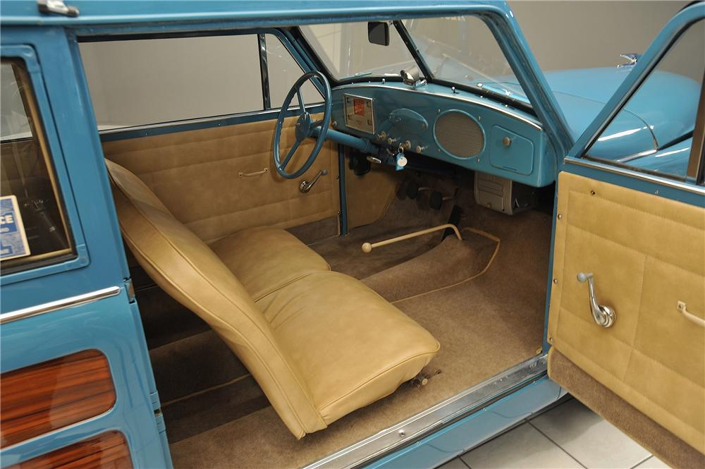 1952 CROSLEY SUPER WOODY WAGON - Interior - 138036