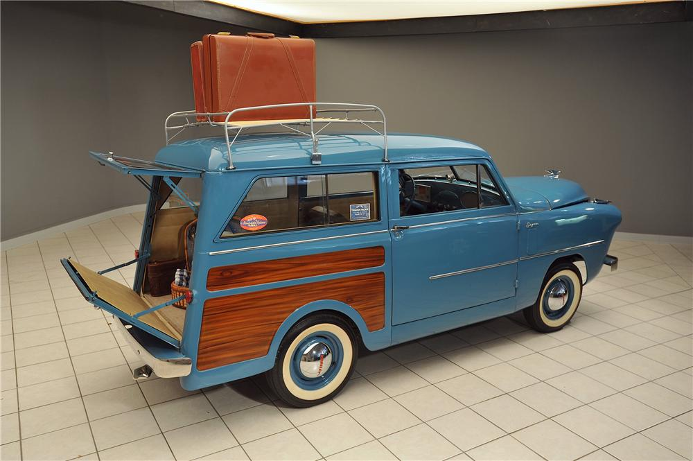 1952 CROSLEY SUPER WOODY WAGON - Rear 3/4 - 138036