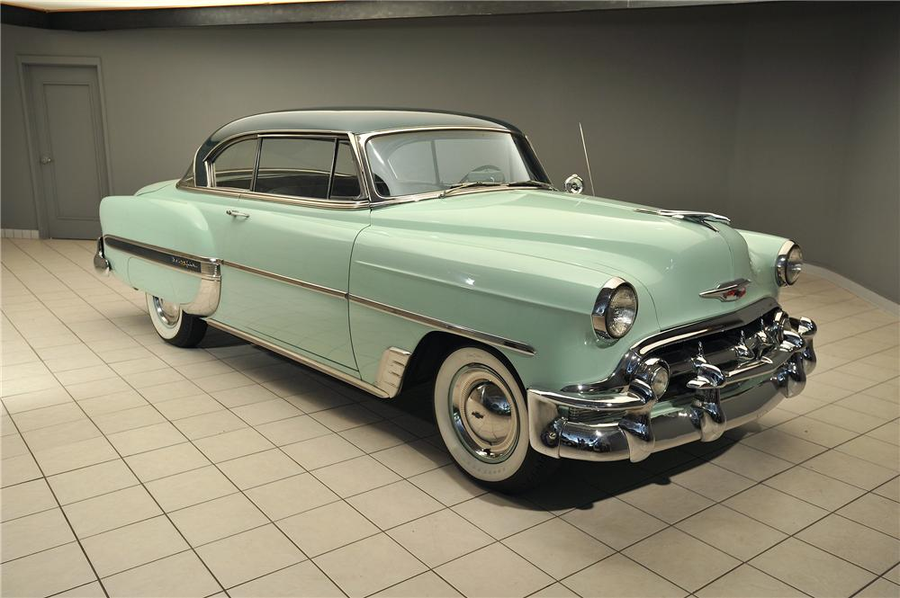 1953 chevrolet bel air 2 door hardtop 138043