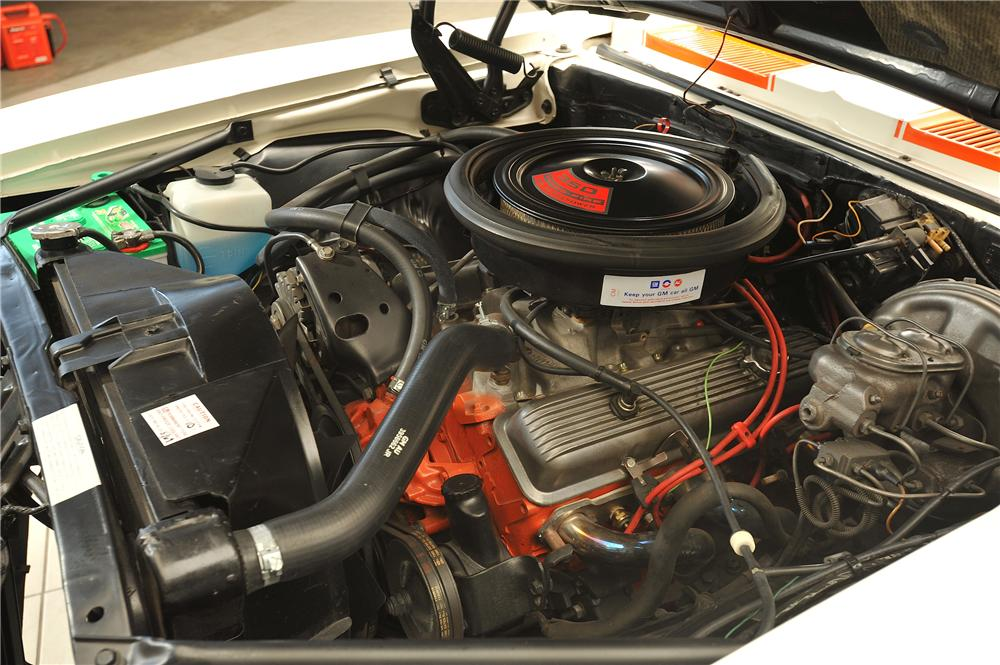 1969 CHEVROLET CAMARO INDY PACE CAR CONVERTIBLE - Engine - 138048