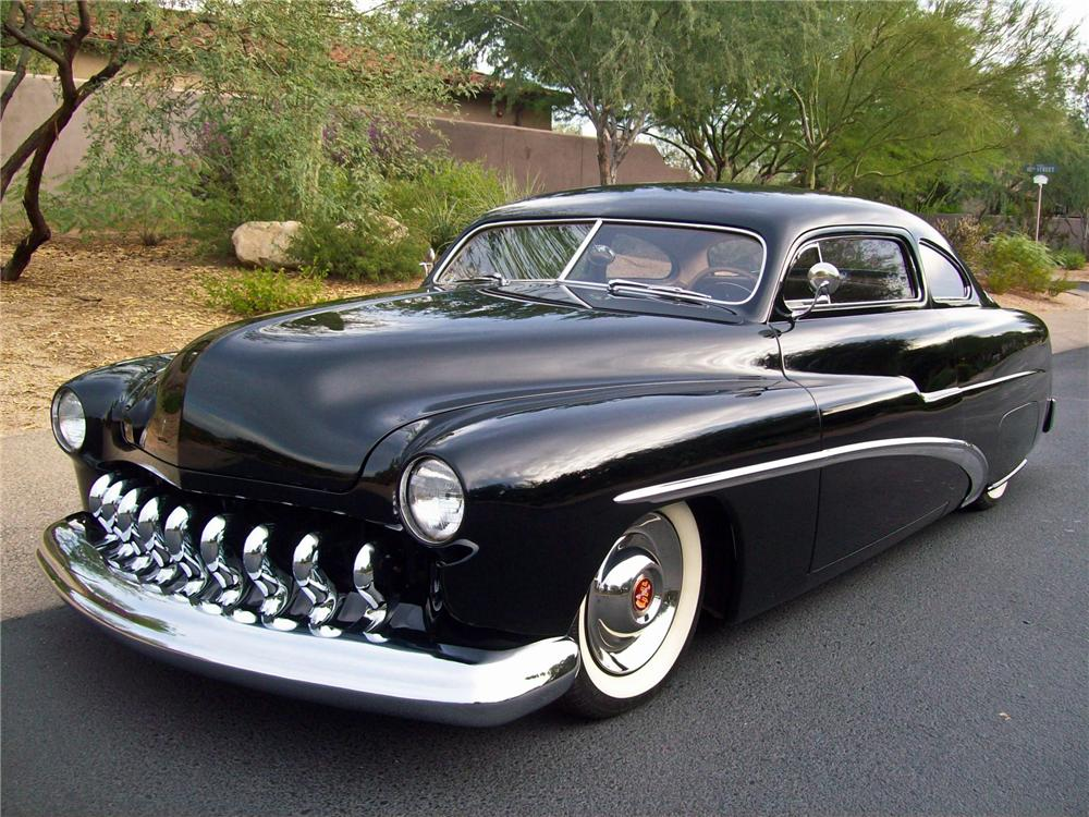 1951 MERCURY 2 DOOR CUSTOM COUPE - Front 3/4 - 138049