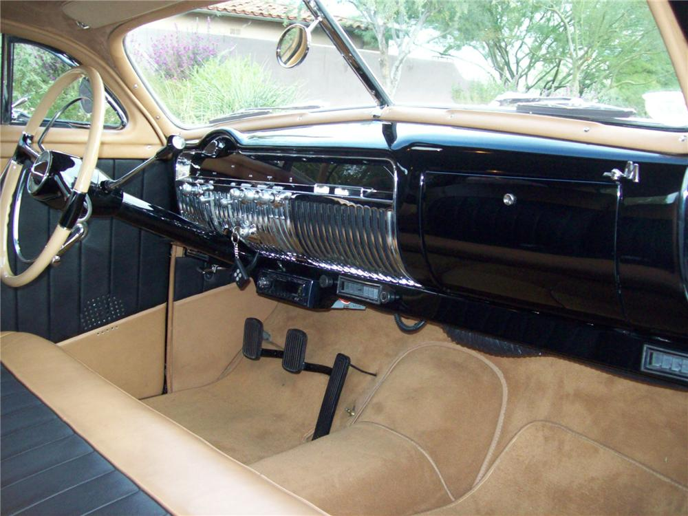 1951 MERCURY 2 DOOR CUSTOM COUPE - Interior - 138049