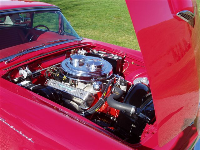 1957 FORD THUNDERBIRD E CONVERTIBLE - Engine - 138058
