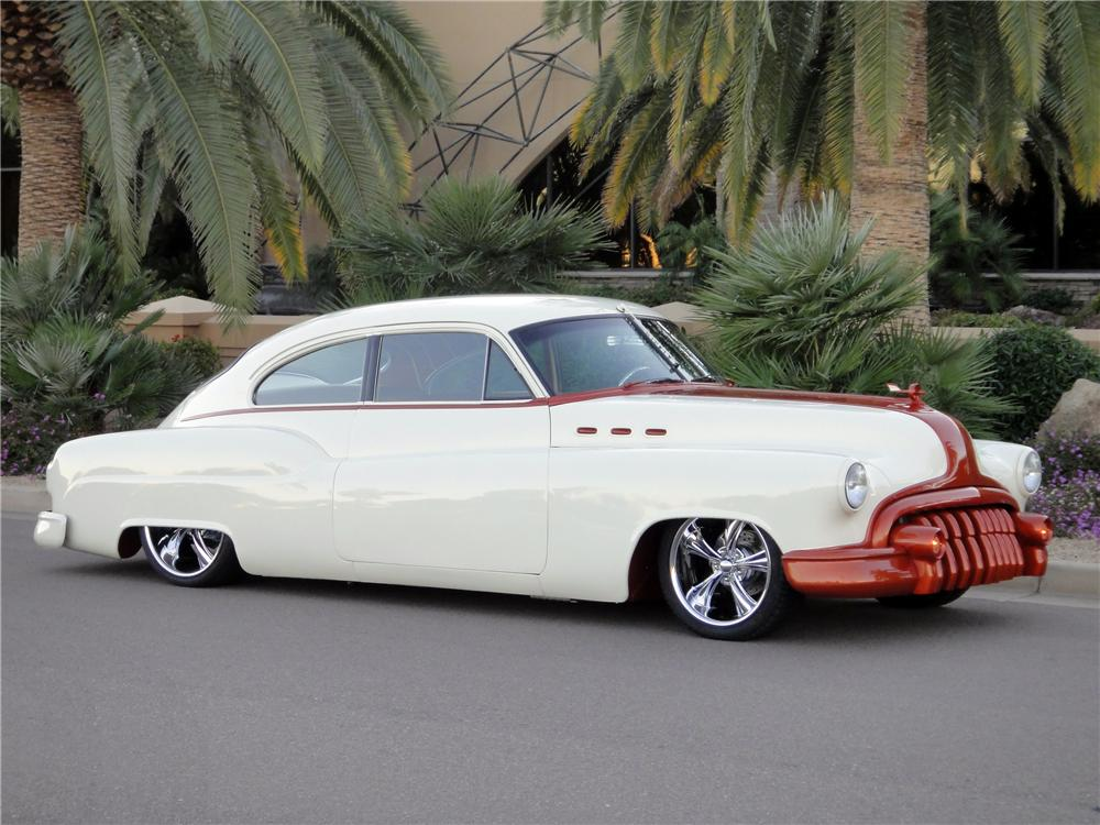 1950 BUICK SPECIAL SERIES 40 50-46D CUSTOM - Front 3/4 - 138060