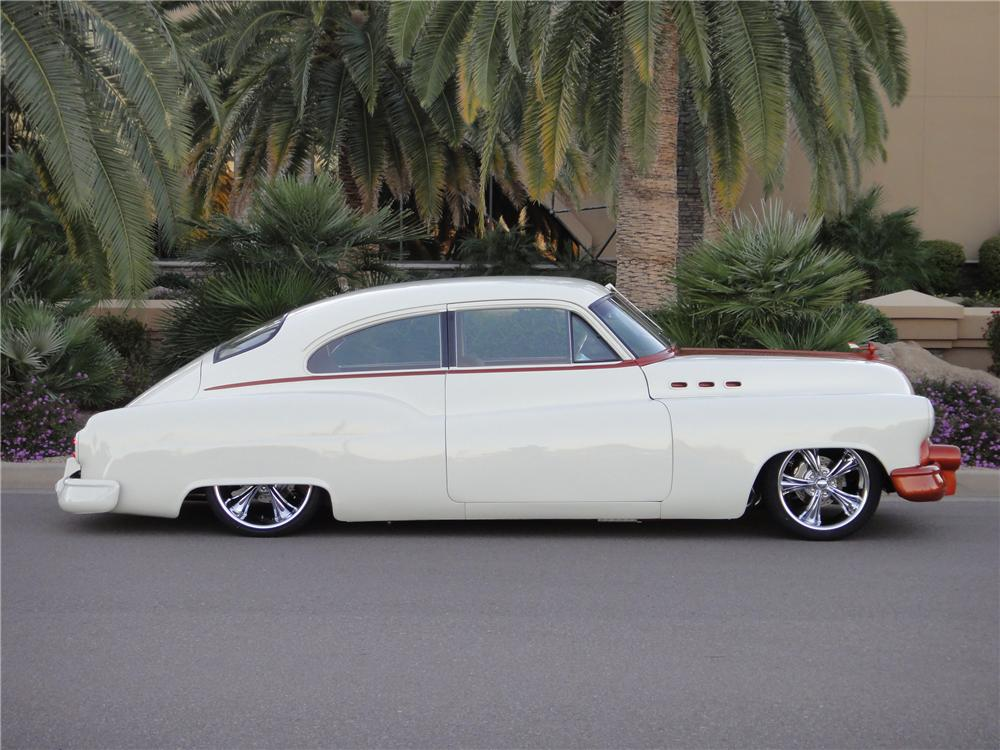 1950 BUICK SPECIAL SERIES 40 50-46D CUSTOM - Side Profile - 138060
