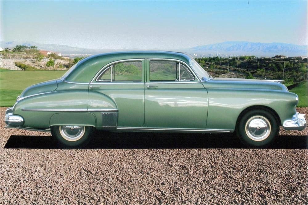 1949 OLDSMOBILE SERIES 76 4 DOOR SEDAN - Side Profile - 138064