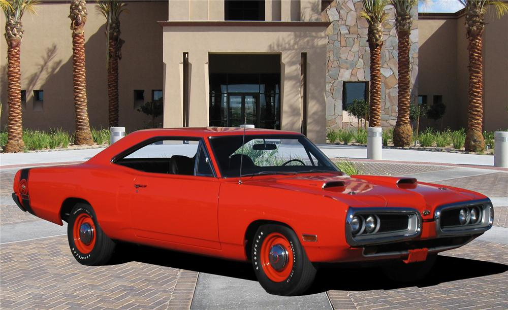 1970 DODGE SUPER BEE 2 DOOR HARDTOP - Front 3/4 - 138066