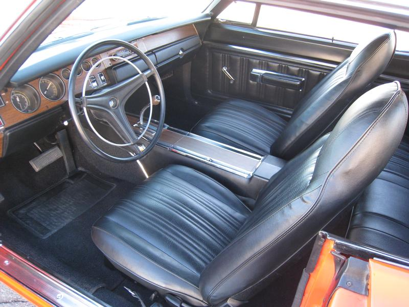 1970 DODGE SUPER BEE 2 DOOR HARDTOP - Interior - 138066