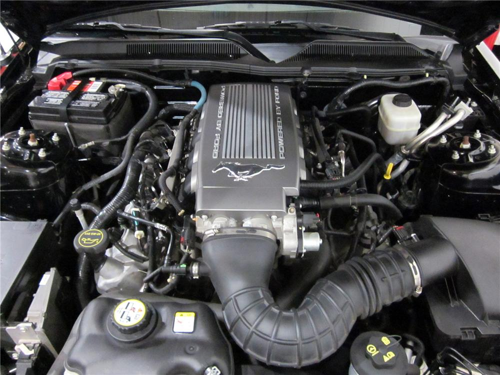 mustang gt 2007 ford convertible engine
