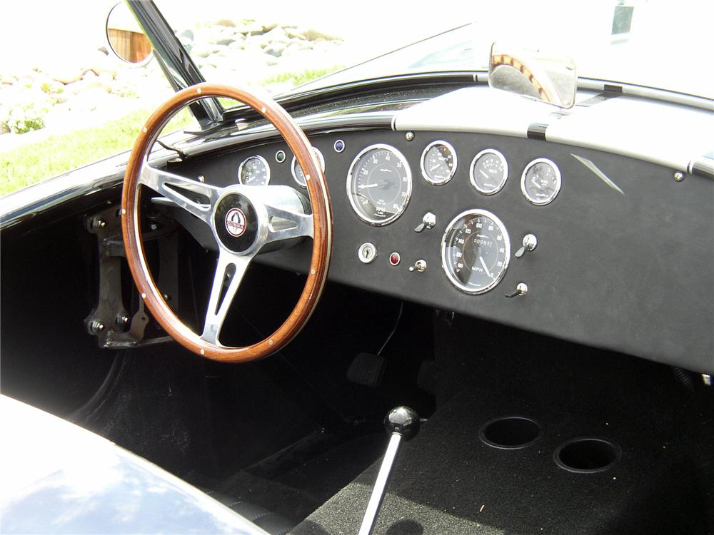 1965 SHELBY COBRA RE-CREATION ROADSTER - Interior - 138074