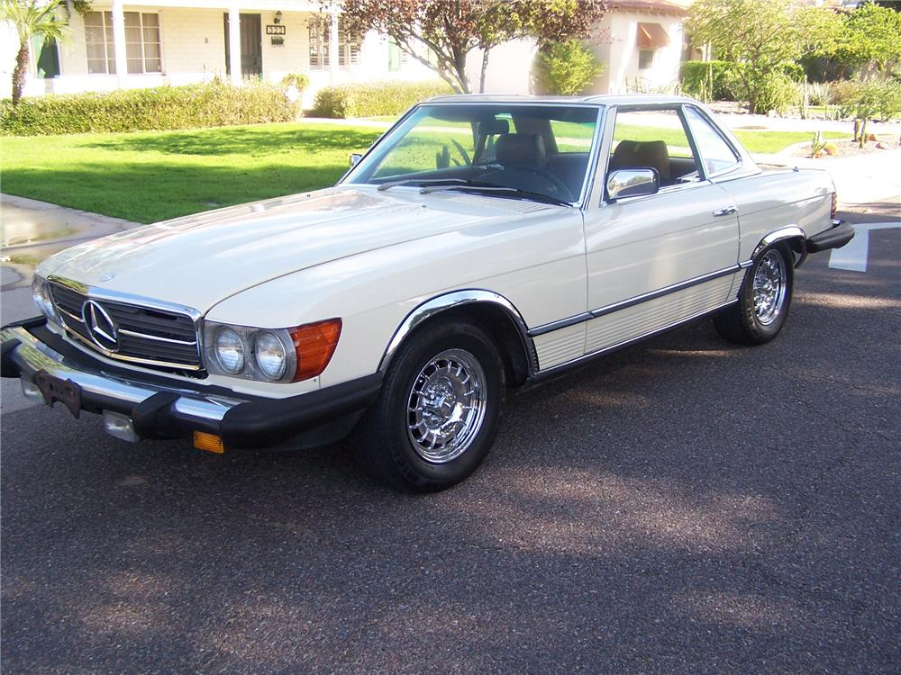 1981 mercedes benz 380sl convertible 138076