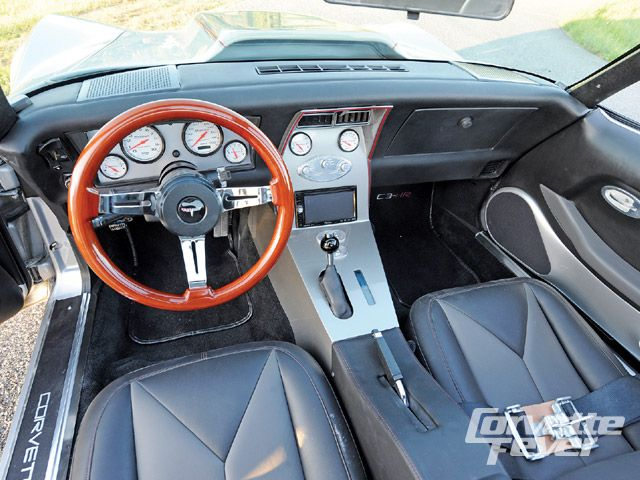1973 CHEVROLET CORVETTE CUSTOM 2 DOOR HARDTOP - Interior - 138077