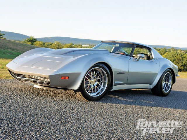 1973 CHEVROLET CORVETTE CUSTOM 2 DOOR HARDTOP - Side Profile - 138077