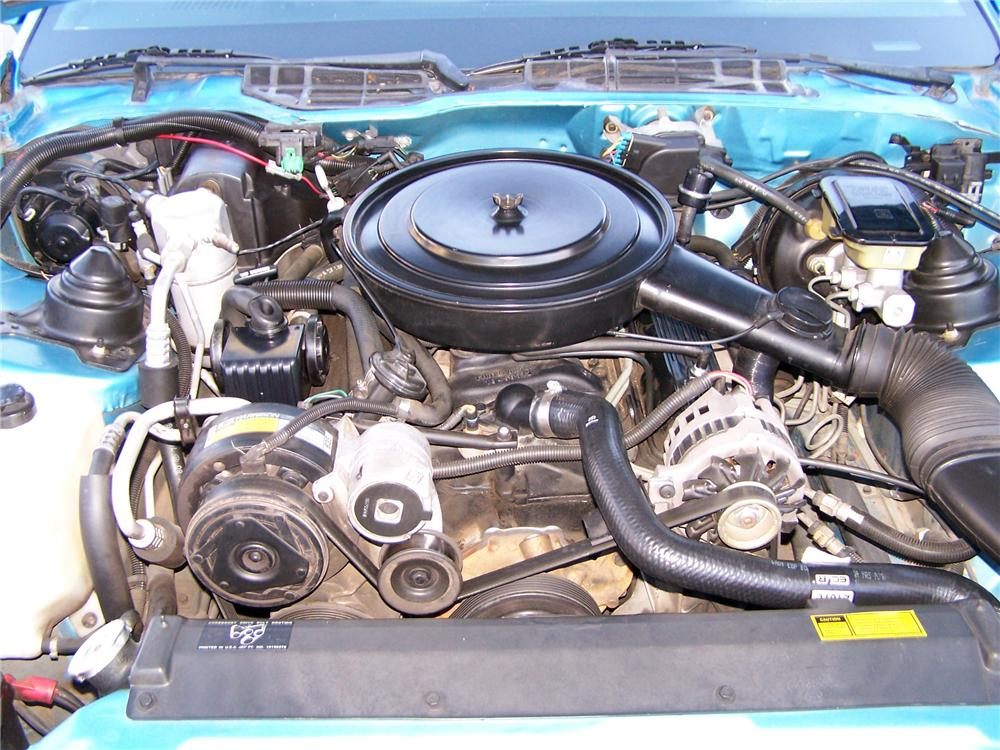 1989 CHEVROLET CAMARO RS CONVERTIBLE - Engine - 138083