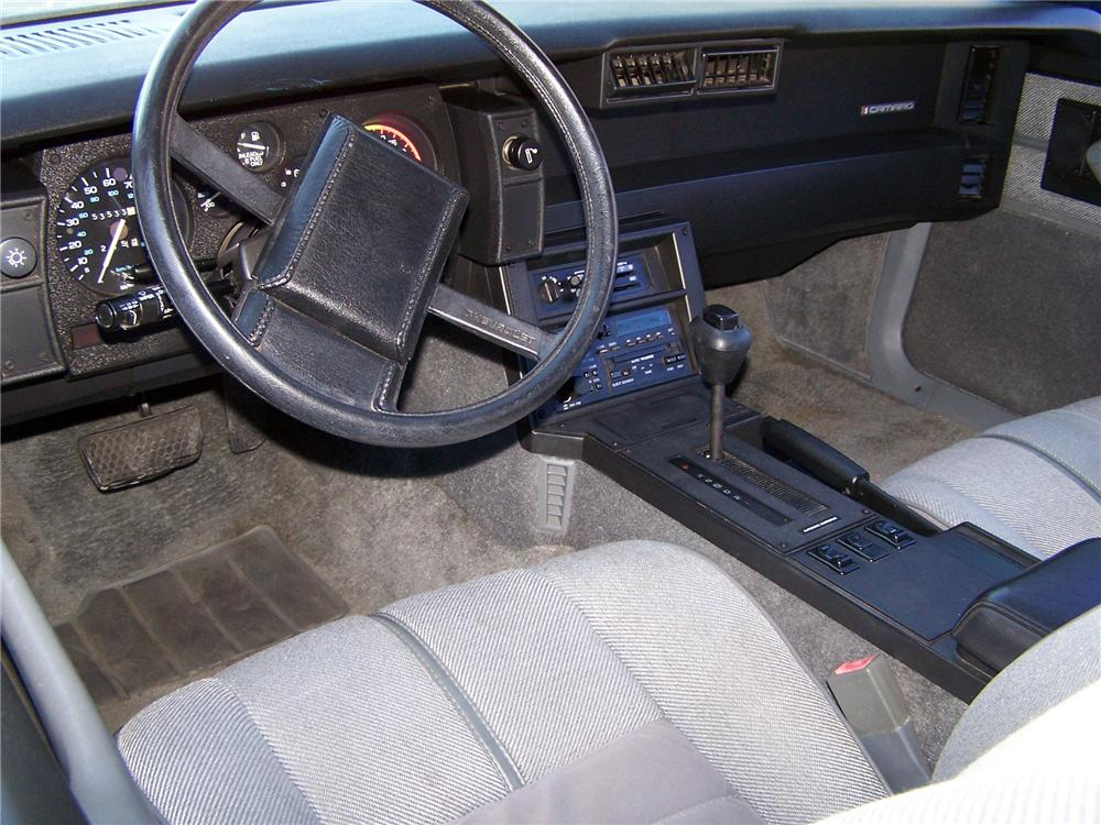 1989 CHEVROLET CAMARO RS CONVERTIBLE - Interior - 138083