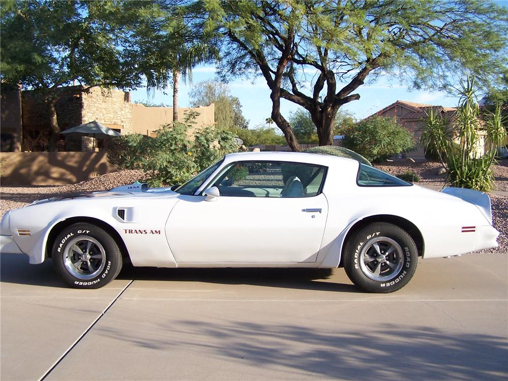 1976 PONTIAC TRANS AM 2 DOOR HARDTOP - Side Profile - 138086