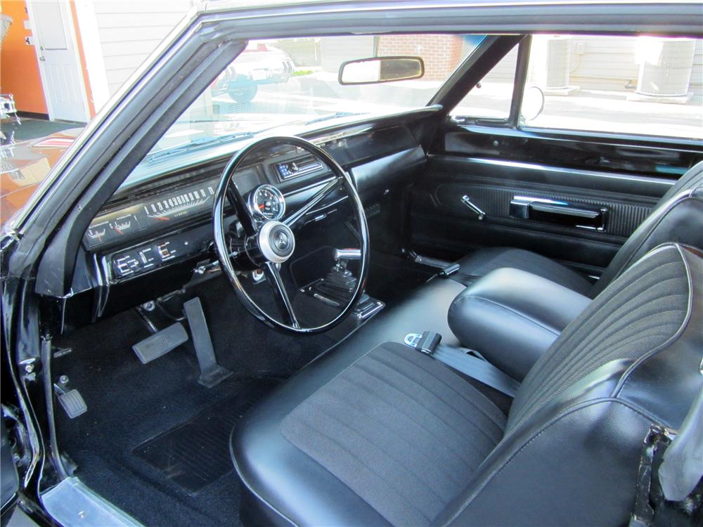 1968 DODGE CORONET CUSTOM 2 DOOR COUPE - Interior - 138094