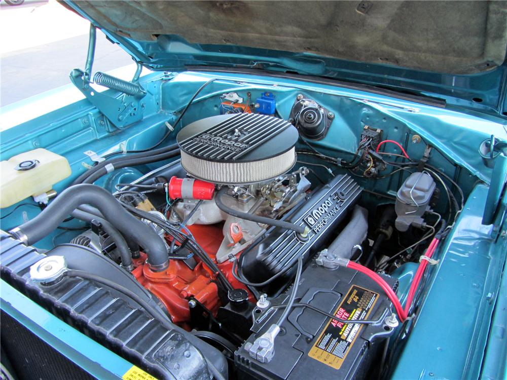 1969 PLYMOUTH ROAD RUNNER 2 DOOR COUPE - Engine - 138095