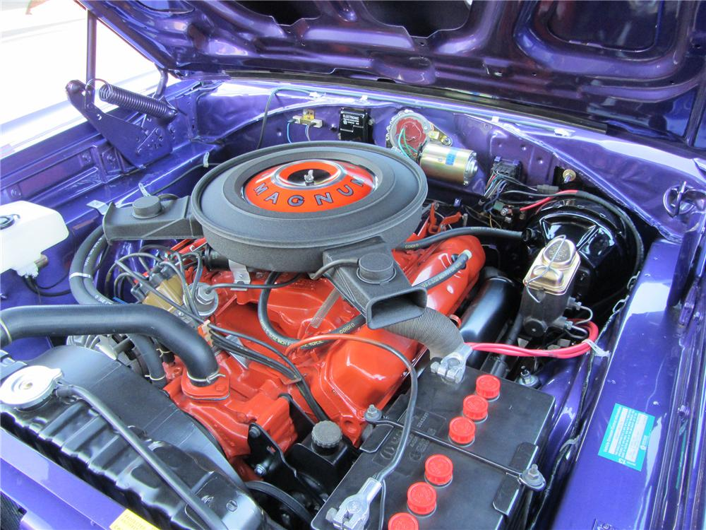 1970 DODGE CORONET R/T 2 DOOR HARDTOP - Engine - 138097