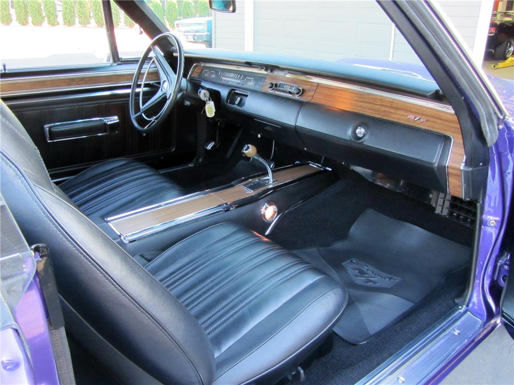1970 DODGE CORONET R/T 2 DOOR HARDTOP - Interior - 138097