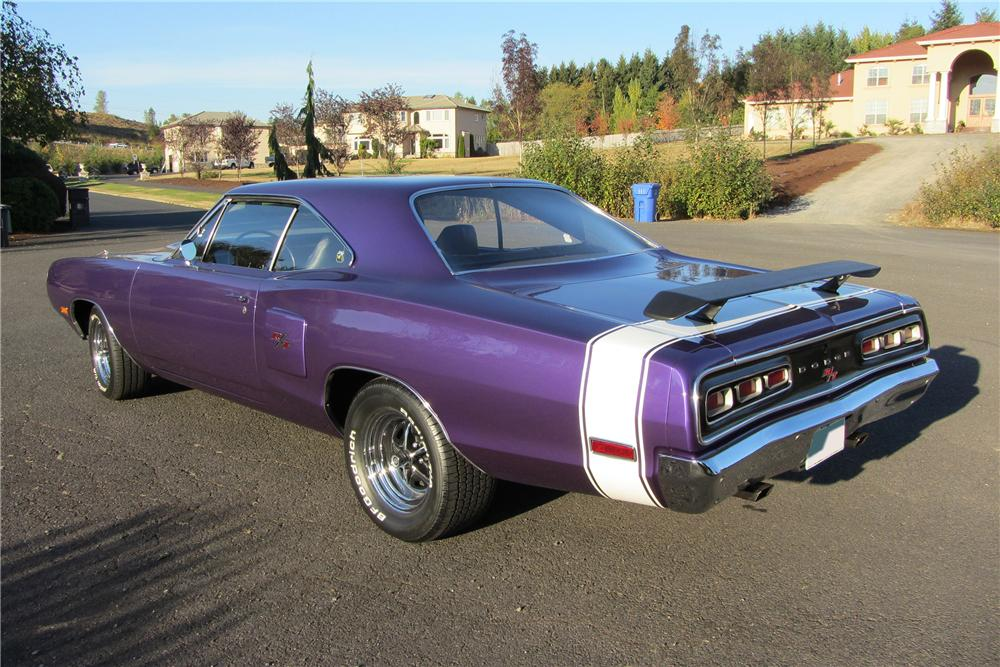 1970 DODGE CORONET R/T 2 DOOR HARDTOP - Rear 3/4 - 138097