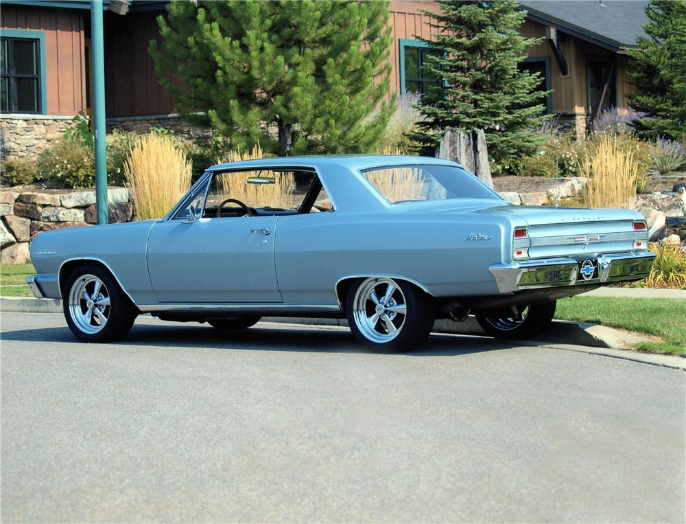 1964 CHEVROLET CHEVELLE MALIBU 2 DOOR HARDTOP - Rear 3/4 - 138100