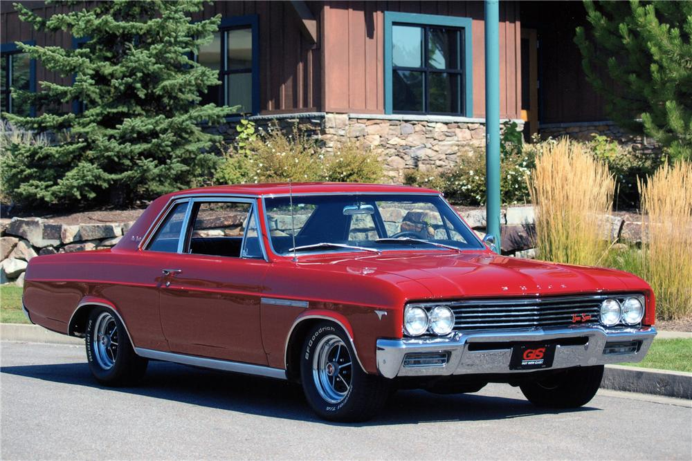 1965 Buick Skylark Gs 2 Door Coupe 138101