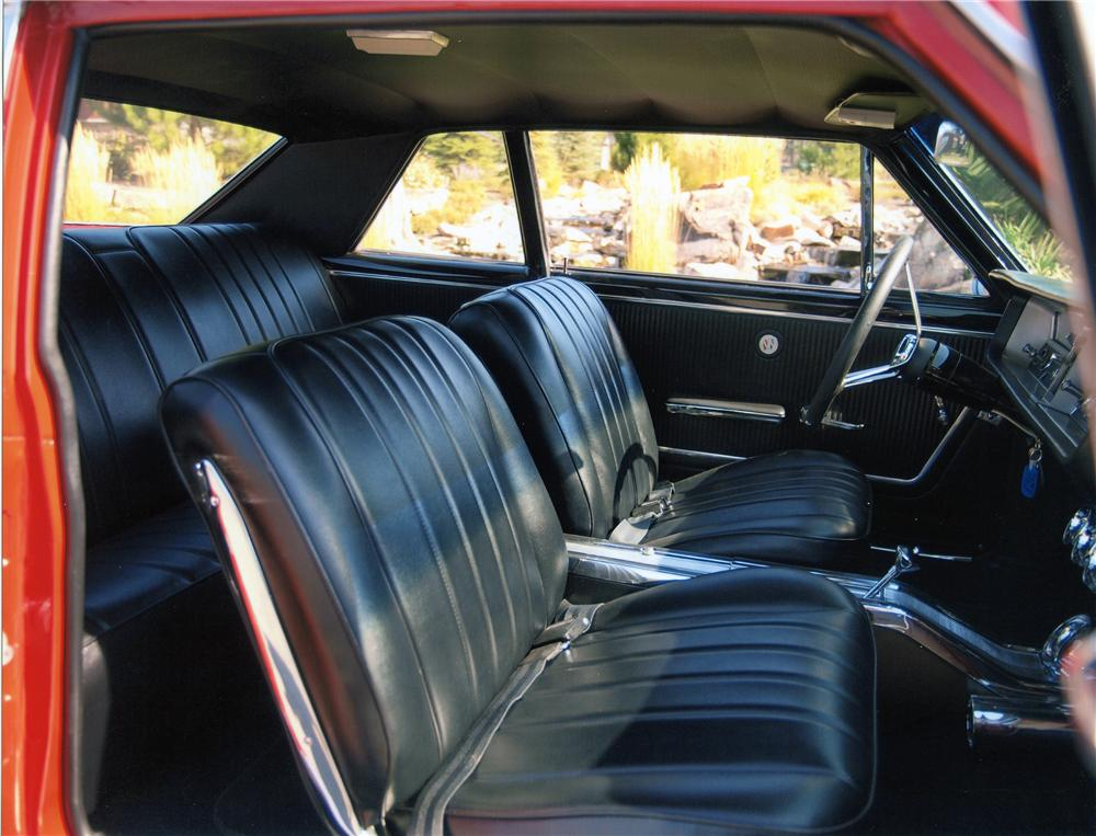 1965 BUICK SKYLARK GS 2 DOOR COUPE - Interior - 138101