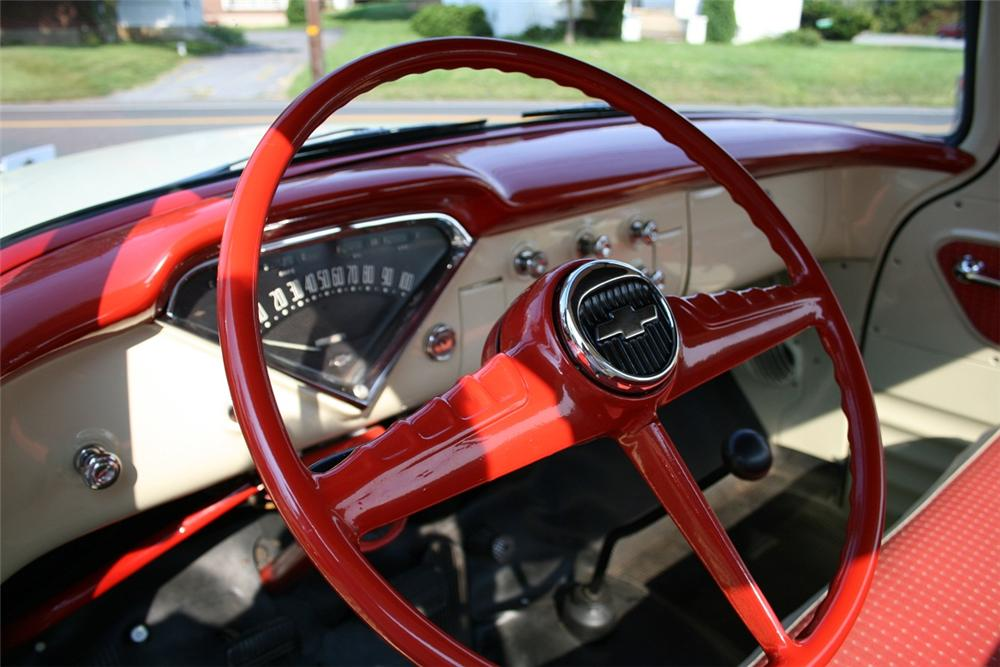 1955 CHEVROLET CAMEO PICKUP - Interior - 138112
