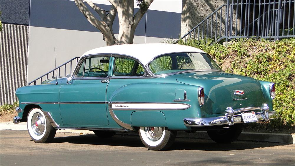 1954 chevrolet bel air 2 door sedan 138114