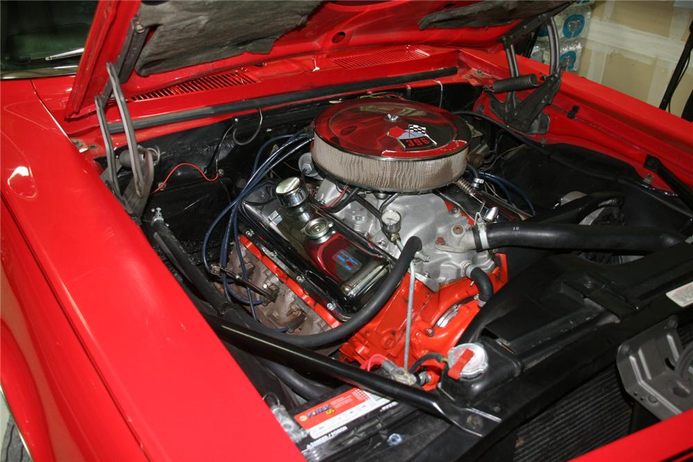 1968 CHEVROLET CAMARO 2 DOOR COUPE - Engine - 138117