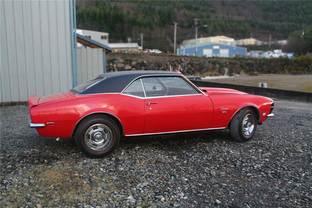 1968 CHEVROLET CAMARO 2 DOOR COUPE - Front 3/4 - 138117