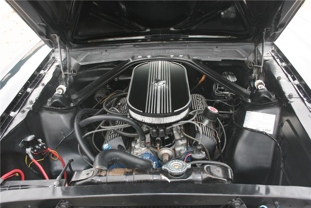 1966 FORD MUSTANG CUSTOM FASTBACK - Engine - 138120