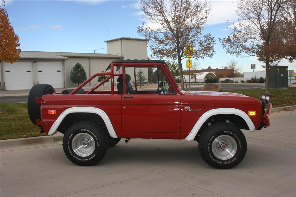 1973 FORD BRONCO CUSTOM 2 DOOR - Side Profile - 138122 ... : bronco doors - pezcame.com