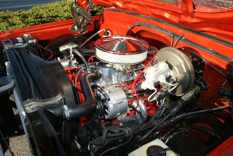 1969 CHEVROLET C-10 CUSTOM PICKUP - Engine - 138125