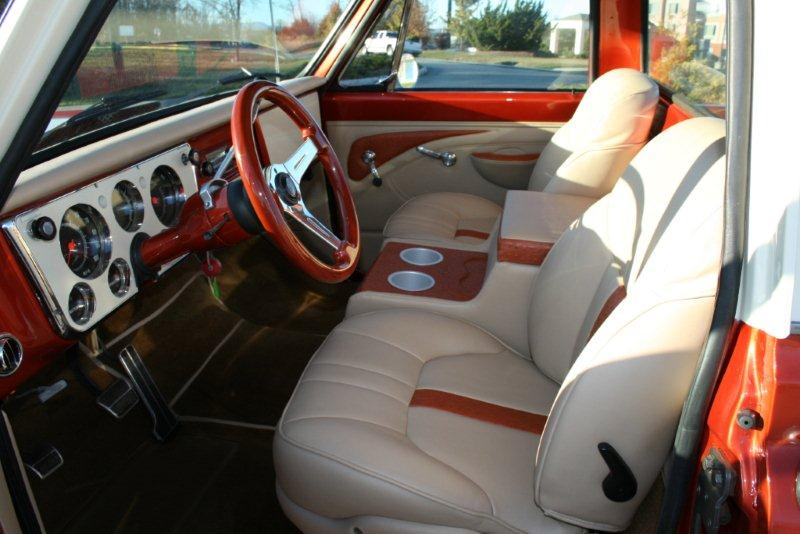 1969 CHEVROLET C-10 CUSTOM PICKUP - Interior - 138125