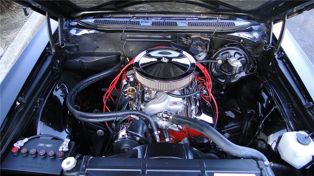 1968 CHEVROLET CHEVELLE SS 396 2 DOOR COUPE - Engine - 138126