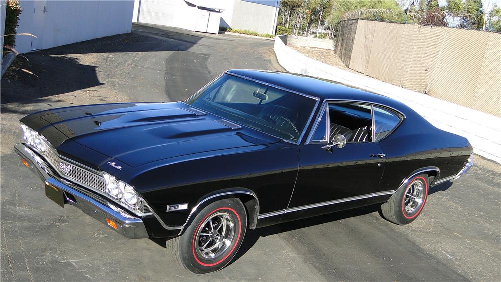 1968 CHEVROLET CHEVELLE SS 396 2 DOOR COUPE - Front 3/4 - 138126