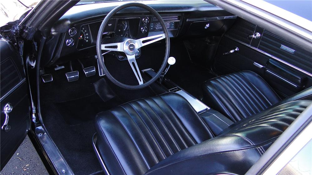 1968 CHEVROLET CHEVELLE SS 396 2 DOOR COUPE - Interior - 138126