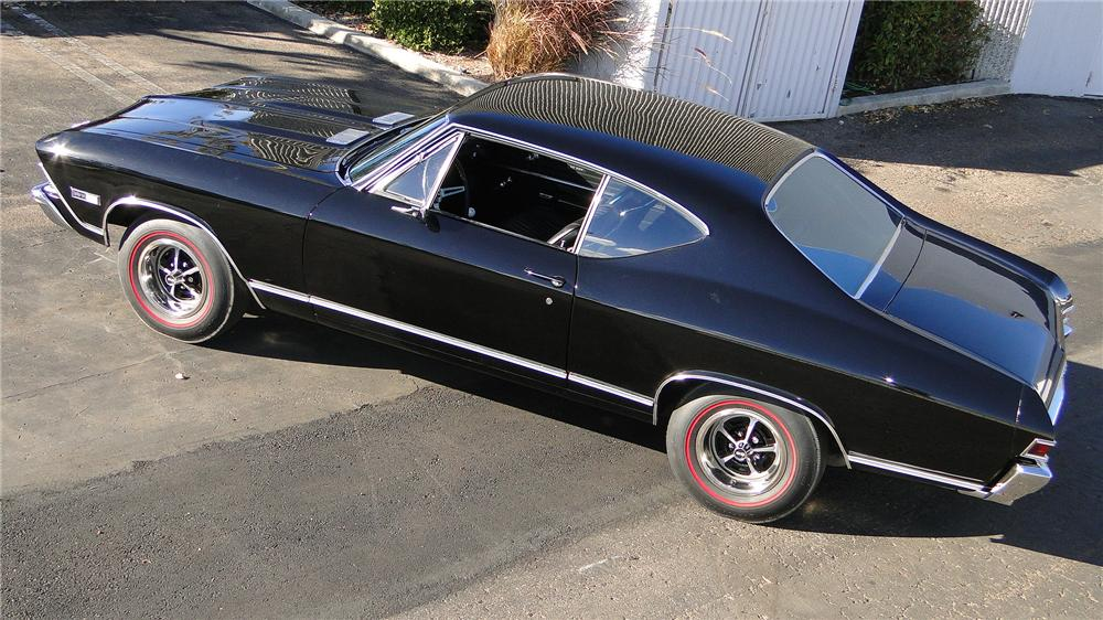 1968 CHEVROLET CHEVELLE SS 396 2 DOOR COUPE - Side Profile - 138126